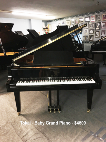 Inventory Jack Whitby Piano