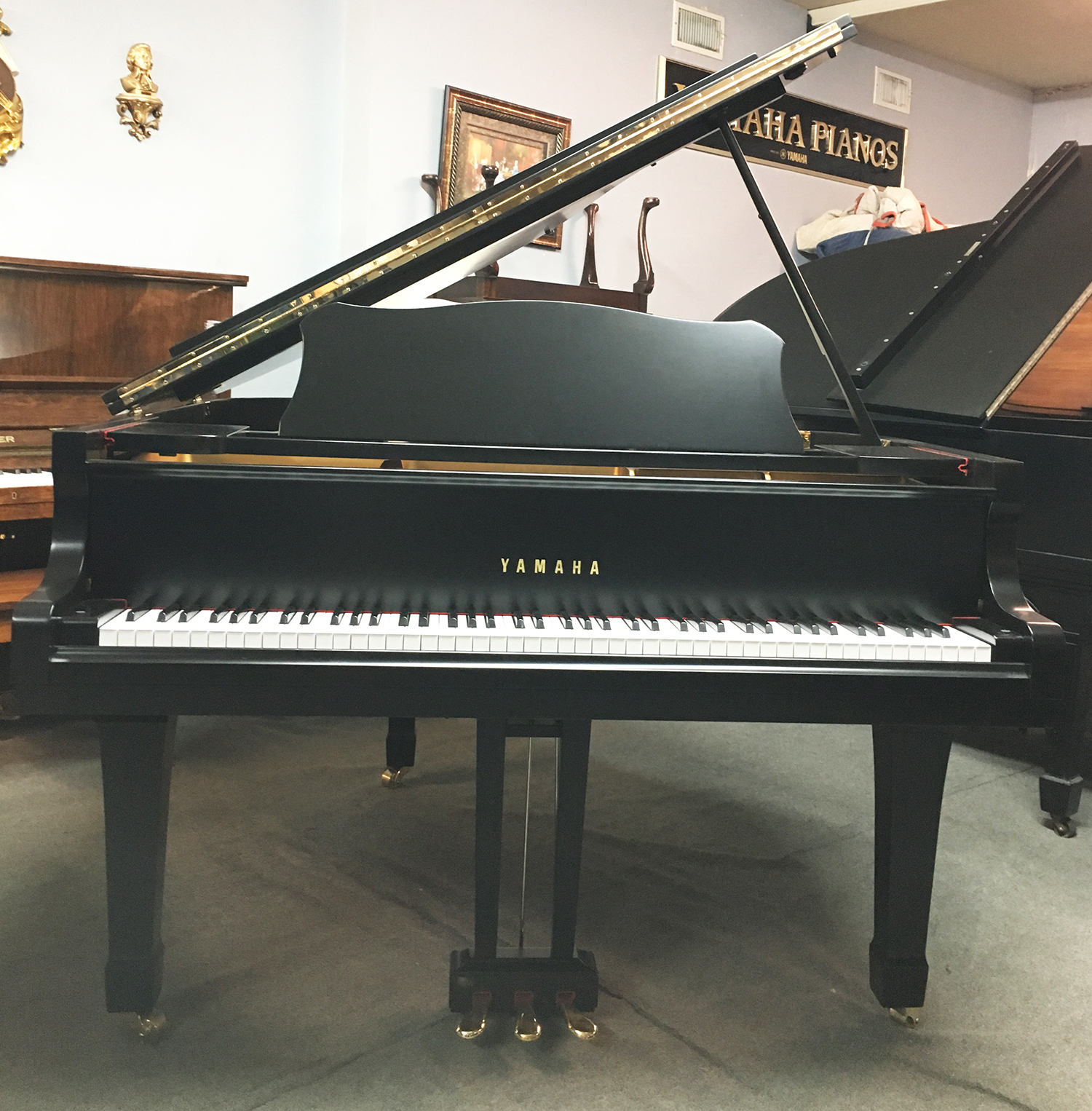 Yamaha G2 Satin Finish Grand Piano For Sale | Dallas