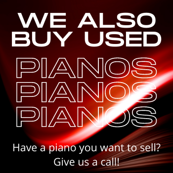 We buy used pianos! Jack Whitby Piano - Dallas